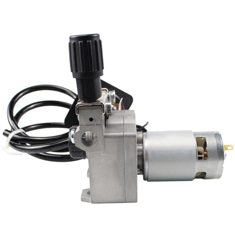 Łatwe do spawania akcesoria do maszyn Dc 24V zespół podawania drutu podajnik drutu silnik spawanie mig spawacz maszynowy