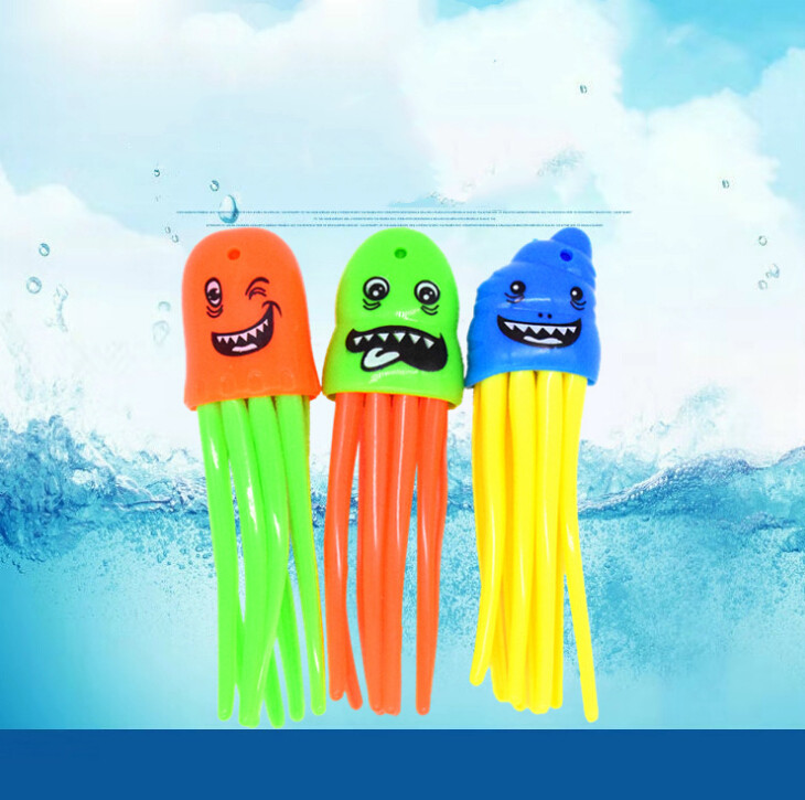 3pcs/set Throwing Toy Funny Swimming Pool Diving Game Toys For Children Dive Accessories Toy Dive Toys  Underwater
