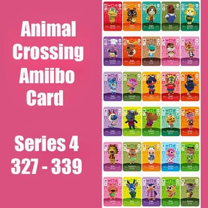 Series 4 (327 to 339) Animal Crossing Card Amiibo Card locks nfc Card Work for Switch NS 3DS Games Animal Crossing Amiibo Card(China)