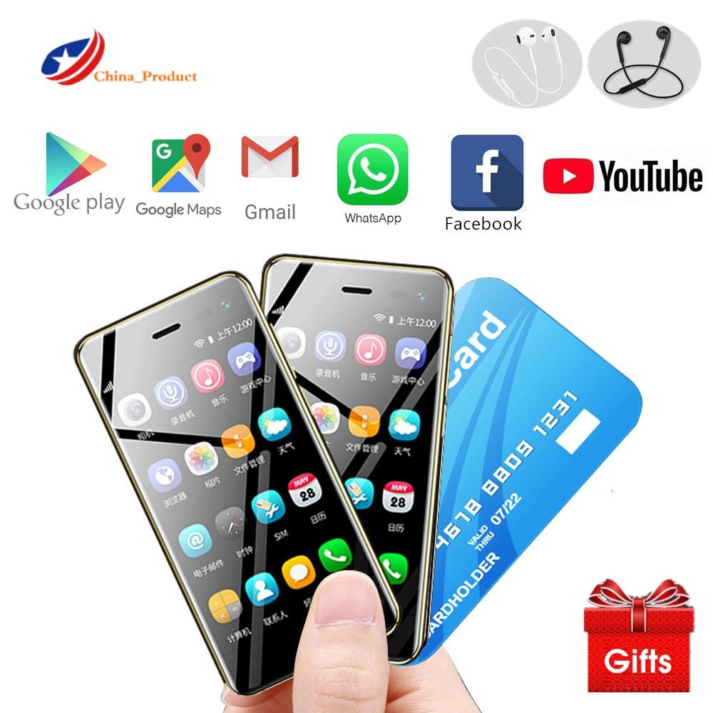 Um presente! Ulcool u2 mini telefone android 4g lte 3.15
