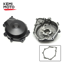 KEMIMOTO for Yamaha YZF R6 YZF R6 2006 2007 2008 2009 2010 2011 2014 Motorcycle Engine Stator Cover Crank Case with Gasket Black