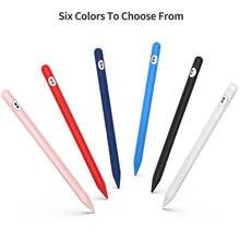 Чехол для apple pencil 2 мягкий силиконовый чехол держатель