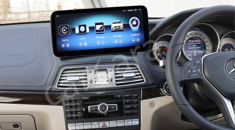 w207 radio faclift carsara