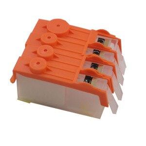 Image 2 - Wkład do HP 903 904 905 kartridż na tusz do ponownego napełniania stałe czip do drukarek HP OfficeJet pro 6950 6951 6954 6956 Pro 6960 6970 drukarki