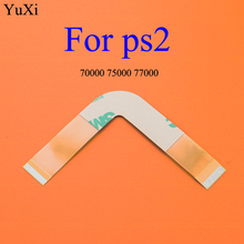 Ribbon Cable 70000x 75000 77000 Laser Lens For PS2 Slim Flex Connection SCPH 70000 Accessory Replacement for PS Playstation 2 laser lens tdp 082w tdp182w for ps2 slim sony playstation 2 with deck mechanism optical 7900x 70000 90000 replacement