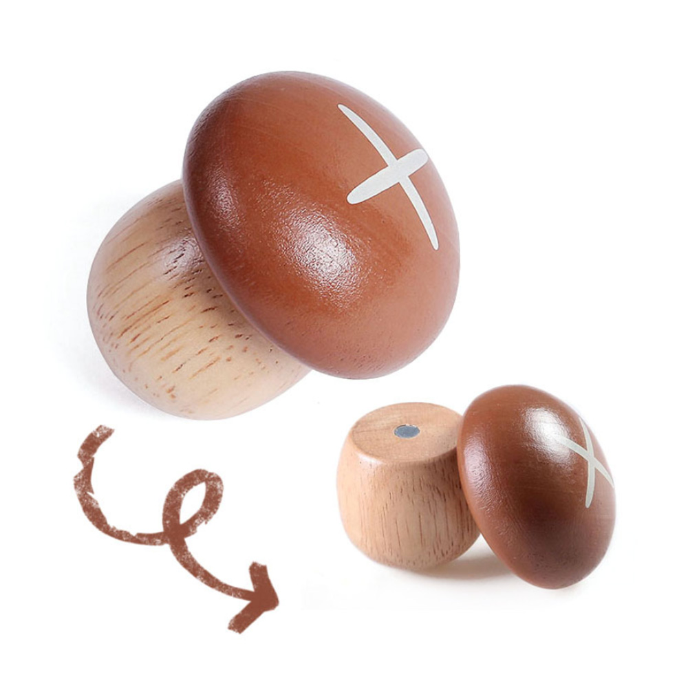 Wooden-Kitchen-Cutting-Toy Kids Classic Simulation Magnetic Fruit Vegetable Dessert Montessori Education Toys Gifts For Children