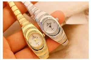 Image 5 - 여자의 시계 2020 뜨거운 판매 럭셔리 시계 석영 작은 다이얼 숙녀 로즈 골드 시계 여성 패션 시계 여성 시계