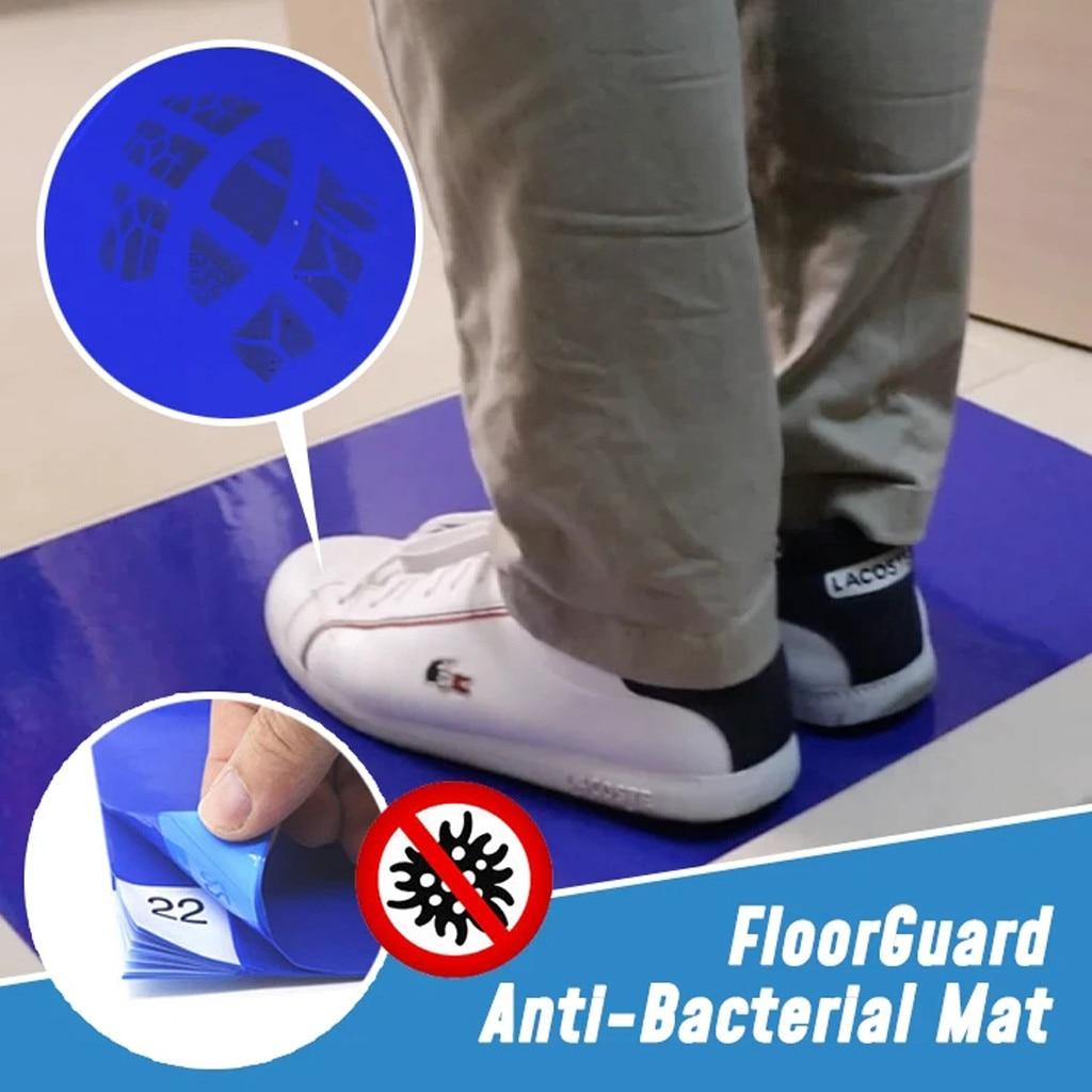 Antibacterial Peeling Pad Antibacterial Antifouling Dust-Free Purification Pad Can Tear Mats Waterproof 40×60cm #N