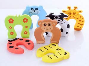 Stopper Clip-Security Door-Clamp Baby Safety Pinch Cute Cartoon 1000pcs Animal DHL