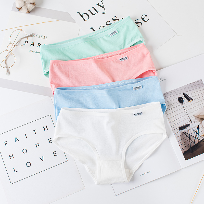 Woman Cotton Panties Female Physiological Pants Leak Proof Underpants Menstrual Lace Underwear Breathable Soft Lingerie Briefs 2