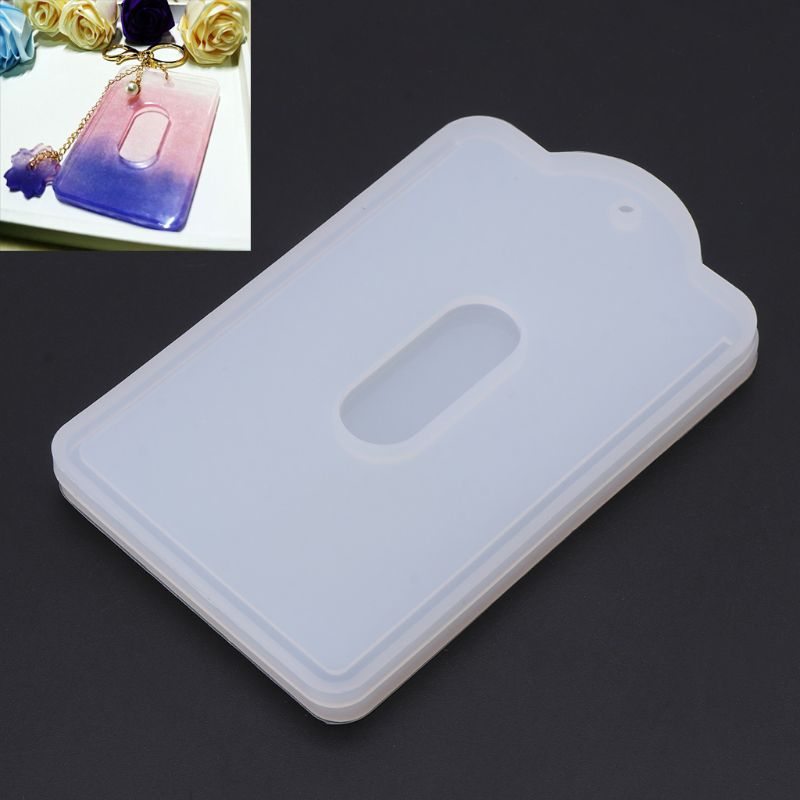 7cmx10.8cm Card Set Pendant Silicone Mold Jewelry Making Resin Craft Handmade DIY Tool New