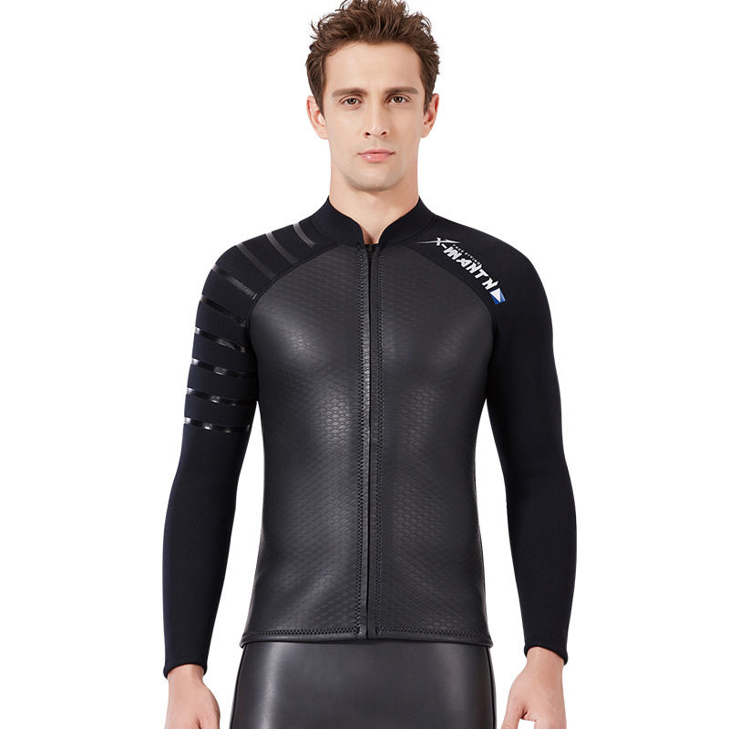 New Men/women 3mm Diving Neoprene Wetsuit Long Sleeve Keep warm Scratch prevention Split Suits for Men Women wetsuit