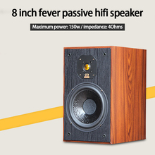 Monitor Bookshelf Wood Speaker Hifi Amplifier-To-Box Home KYYSLB 150w with Fever Passive