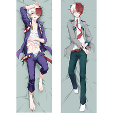 My Hero Academia todorki Shouto 아수이 츠유 크로스 my body waifu 침구 세트 anime body pillow(China)