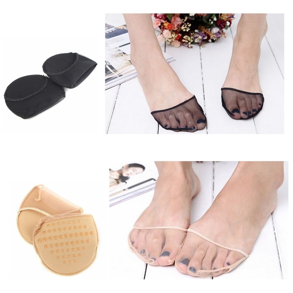 New Arrival Fashion Useful Women Foot Insoles Gel Pads Cushion Metatarsal Sore Forefoot Support