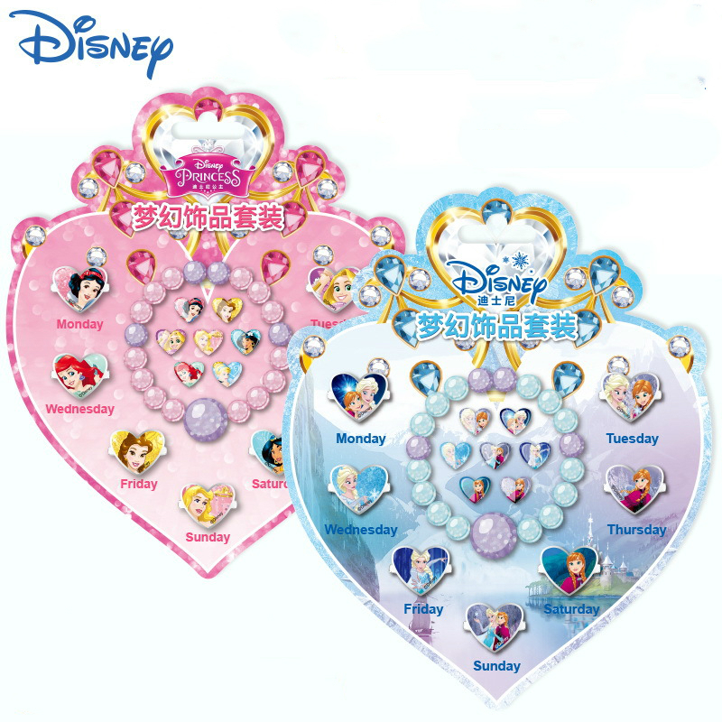 Disney Princess Makeup Toys Frozen Anna Elsa Stickers For Baby Kids Make Up Ring Toys Tattoo Nail Sticker Children Birthday Gift