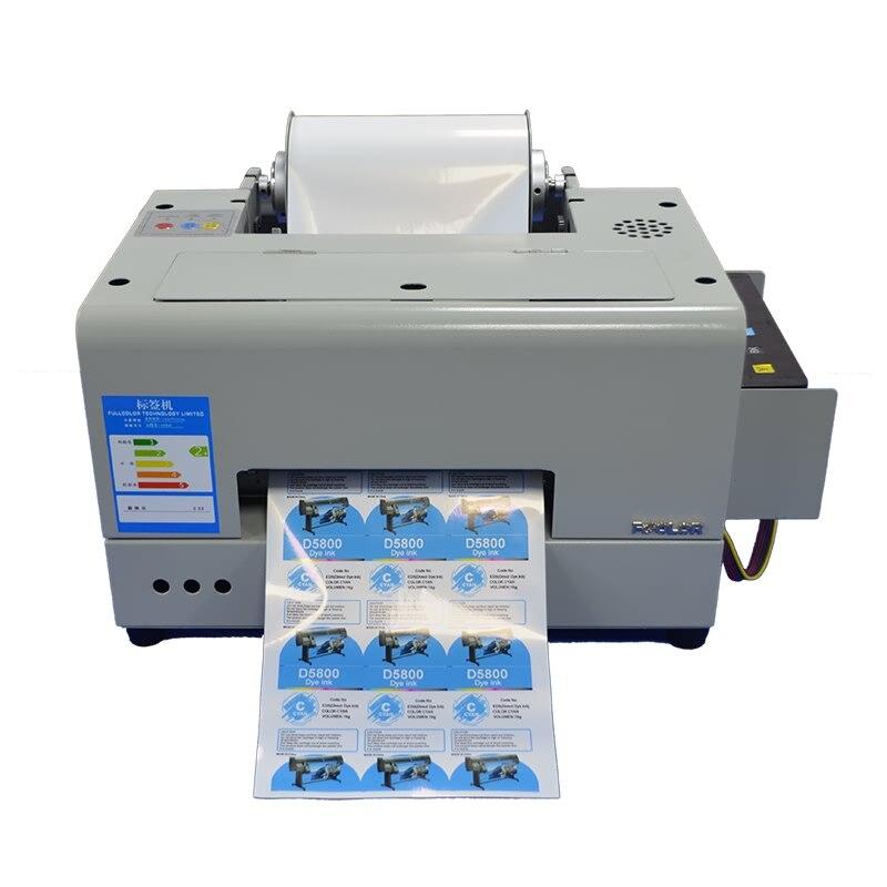 Label Drucker A4 Desktop Farbe Klebstoff Aufkleber Druck Maschine PP PET Label Maker Drucker