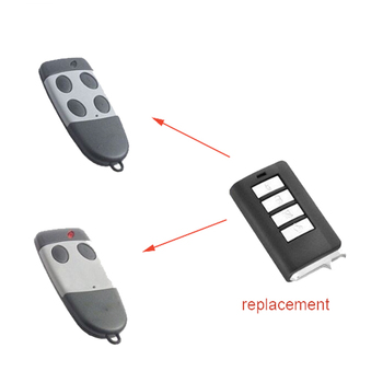 10pcs For Cardin S449 replacement garage door remote control rolling code 433mhz S476-TX2,S476-TX4 garage door remote command