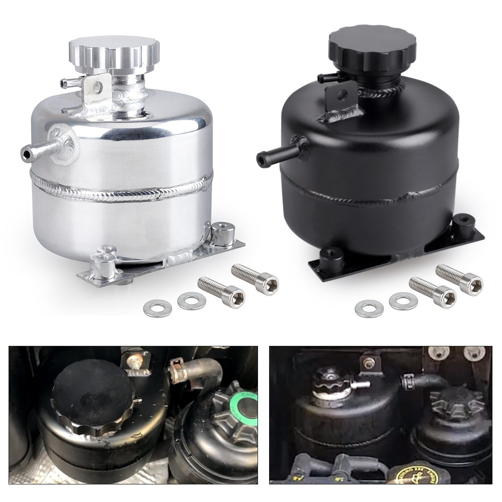 For MINI Cooper S R52 R53 Car Accessories Coolant Header Expansion Overflow Water Tank & Cap Reservoir Aluminum Can YC101471