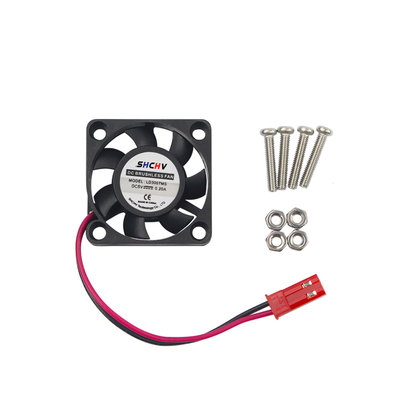 Raspberry Pi 3 Cooling Fan 5V 2P Brushless CPU Fan Customized Cooler For Raspberry Pi 3 Model B Plus For Orange Pi PC