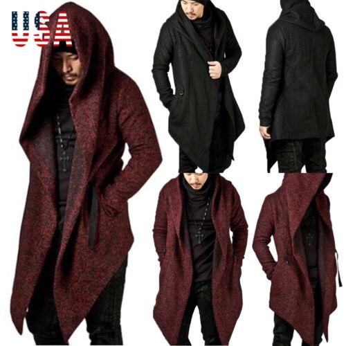 2019 New Winter Wool Coat Men Leisure Long Sections Woolen Coats Men's Pure Color Casual Fashion Jackets / Casual Men Overcoat