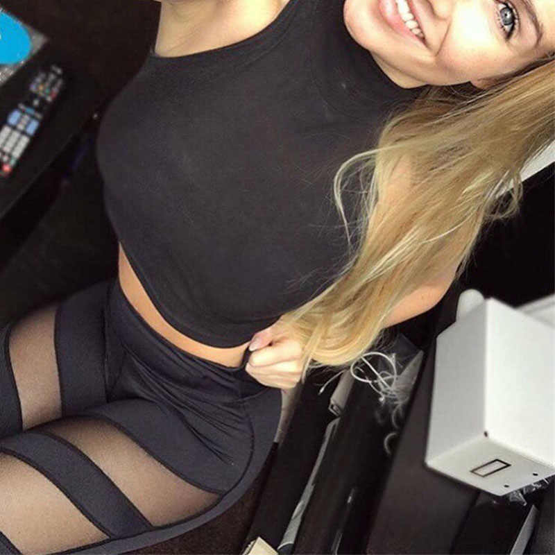 Yeni kadın Yoga pantolon şınav spor spor salonu spor tayt çalışan örgü Yoga legging dikişsiz alıştırma külodu Femme yüksek bel