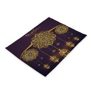Image 4 - ラマダンの装飾イスラム装飾eid装飾ホームテーブルプレイスマットgeburtstagsdekoラマダンmubarakラマダンカリーム家の装飾