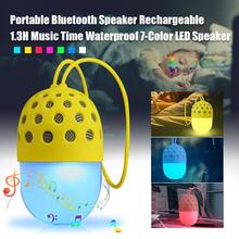New Wireless Bluetooth Speaker Colorful Color Changing Outdoor Portable Rechargeable Night Light Bluetooth Mini Speaker anker soundcore flare mini bluetooth speaker outdoor bluetooth speaker ipx7 waterproof for outdoor parties