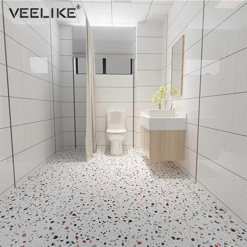 Badkamer Waterdichte Vloer Marmer Stickers Tegels Imitatie Graniet Muursticker Aanrecht Zelfklevend Behang Room Decor Wallpapers Aliexpress