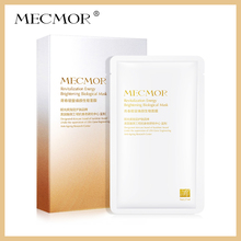 MECMOR Revitalization Energy Brightening Biological Facial Mask 8PC Additive Free Sensitive Skin Usable Nourish Face Mask