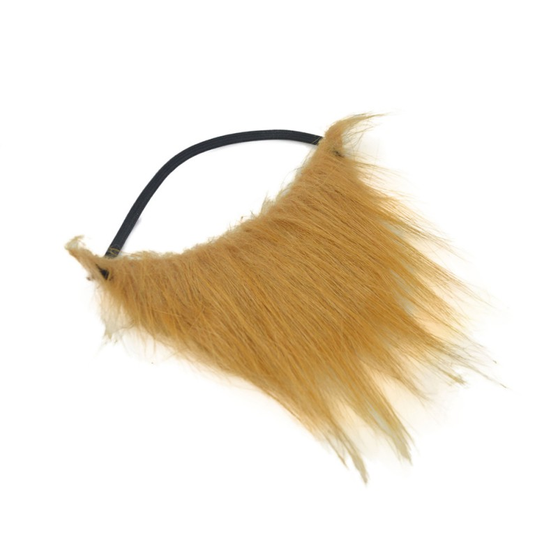 Halloween Brown Fake Beards Mustaches Theatrical Prop Party Decoration Supplier.