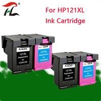 2set 121XL Compatible for HP 121XL Ink Cartridge 121 for HP Deskjet D2563 F4283 F2483 F2493 F4213 F4275 F4283 F4583 printer
