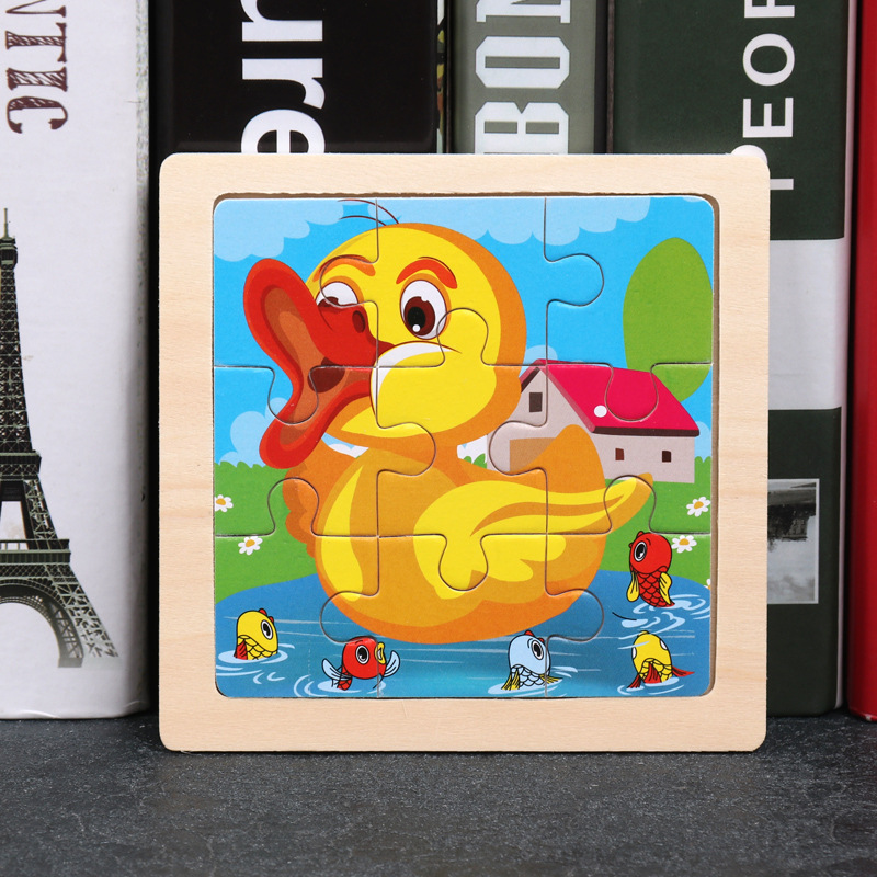 Wood Puzzles Children Adults Vehicle Puzzles Wooden Toys Learning Education Environmental Assemble Toy Educational Games 19