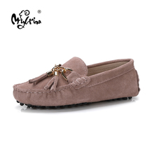 MYLRINA 2020 New Arrival Casual Womens Shoes Genuine Leather