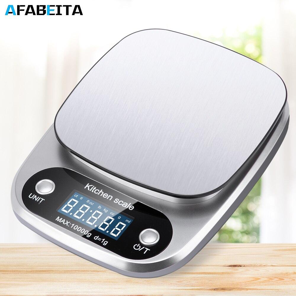 10 кг x 1 г/5kgx/0,1 г цифровые кухонные весы многофункциональные электронные весы для еды точность баланса для выпечки ювелирных изделий-0