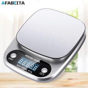 10 кг x 1 г/5kgx/0,1 г цифровые кухонные весы многофункциональные электронные весы для еды точность баланса для выпечки ювелирных изделий