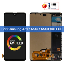 Super AMOLED For Samsung Galaxy A51 LCD A515F SM-A515F/DS A515F/DS A515F Display Touch Screen Digitizer For Samsung A515 Display