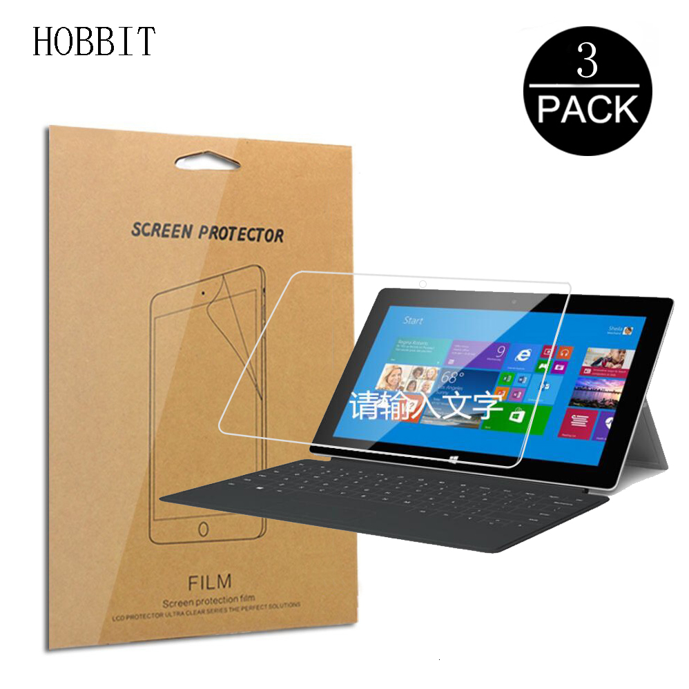 3Pack High Definition Screen Protector For Microsoft Surface Pro 7 6 5 4 Clear LCD Tablet Anti-Scratch Ultra-thin Film Surface