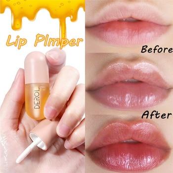 Moisturizing Plumping Lip Gloss Lip Plumper Enhancer Repairing Reduce Lip Fine Lines Mask Lips Care Serum Essence Oil Lip Pump