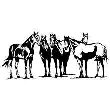 18*8cm ocidental cowboy cavalo de rodeio equestre caminhão carro janela decalque vinil adesivo estilo do carro