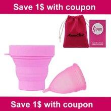 Женская гигиена, Дамская чашка, менструальная чашка, силиконовая, Mestruale Coupe, menstrumelle, чашка для периода Луны, Copa, менструальная чашка, стерилизатор