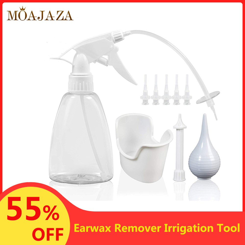 Ear Cleaner Irrigation Cleaning Tool Ear Wash Syringe Squeeze Bulb Adult Childcare Products Safe Vacuum Cerumen Earwax Remover