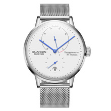 GUANQIN Luminous Mechanical Business Watch Automatic Men Top Brand Luxury stainl