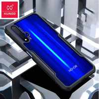 Hot Xundd Luxury Clear Case for Huawei Honor 20 with Airbags Shockproof Back Cover for Huawei Honor 20 Pro funda Business