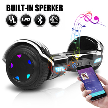 6.5 Inch Hoverboard Electric Scooters Smart Electric Skateboard Self Balance Scooter Bluetooth Speaker LED Hover Board Oxboard e twow long board adult hover board self balance electric scooter electric skateboard gyropode light board foldable hoverboard