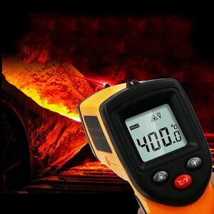 Image 3 - Termómetro Digital infrarrojo sin contacto GM320, pistola medidora de temperatura, pirómetro láser de mano de 50 a 380 grados, IR