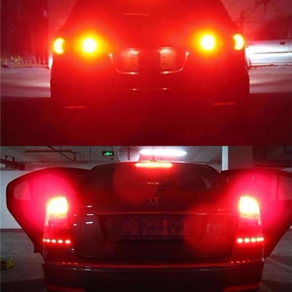 BA15S 1156 P21W 33-LED SMD 5730 hiçbir hata araba kuyruk ampul fren işık yedekleme ters lamba beyaz sarı 12V