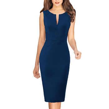 Vfemage Dresses Dark Blue