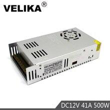 Đĩa Đơn Đầu Ra 12V 24V 36V 48V Công Suất 500W Biến Hình 110V 220V AC để DC Nguồn Driver Cho Đèn Led Camera Quan Sát Bước