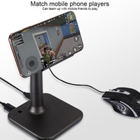 G3 Bluetooth 5.0 Gamepad Keyboard Mouse Converter Station with Mobile Phone Holder